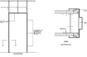 Interior Structural CAD Detail Library | AWCI Technology Center